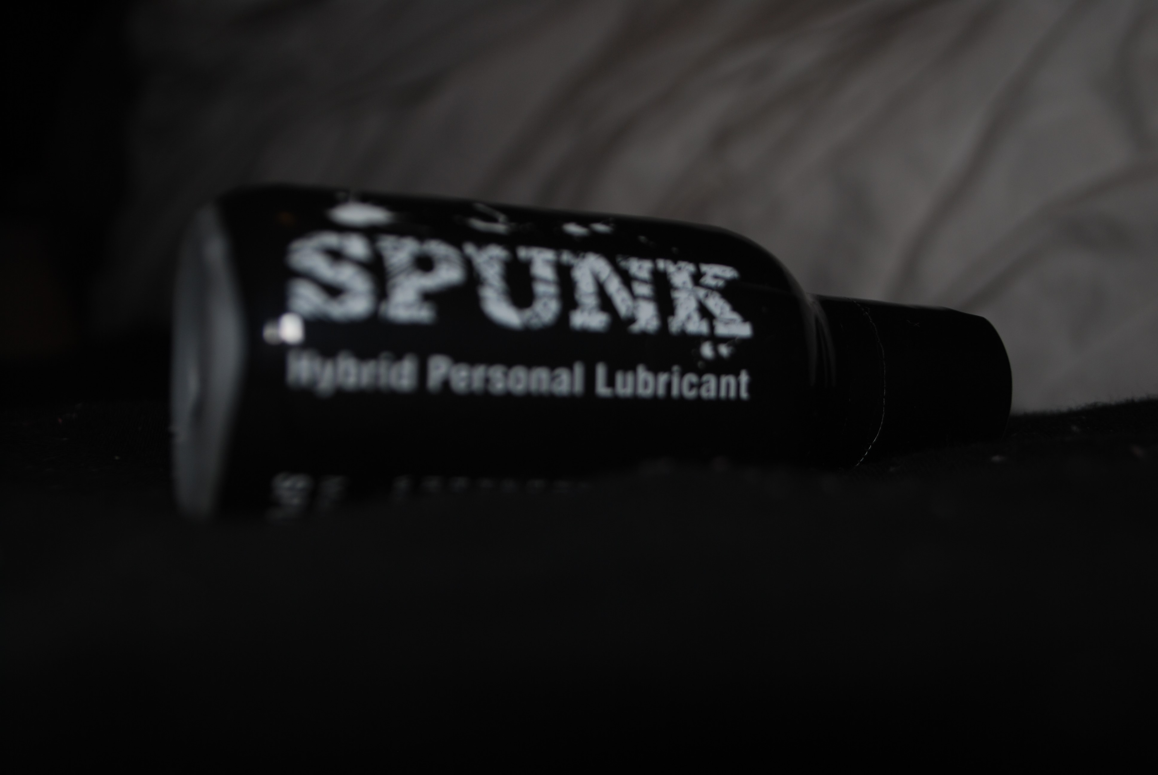 Spunk lube hybrid is a hybrid lubricant which is water based silicone. It  has the appearance and viscosity of cum hence the name Spunk Lube.